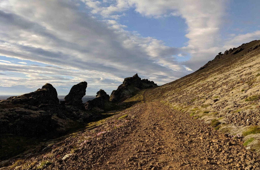 Hiking path Thorbjorn Ijsland