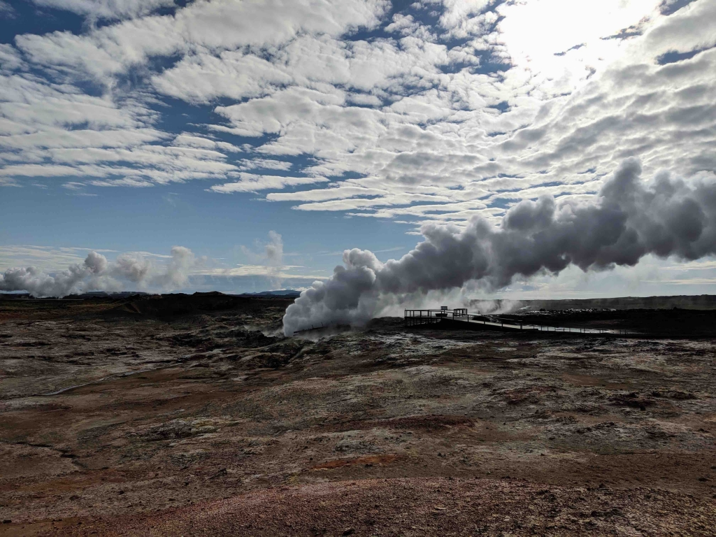 Gughnnuver geothermal area