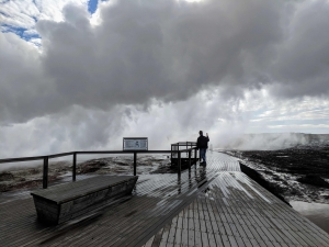 Guhnnuver hotspring in Reykjanes