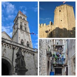 Trogir city centre