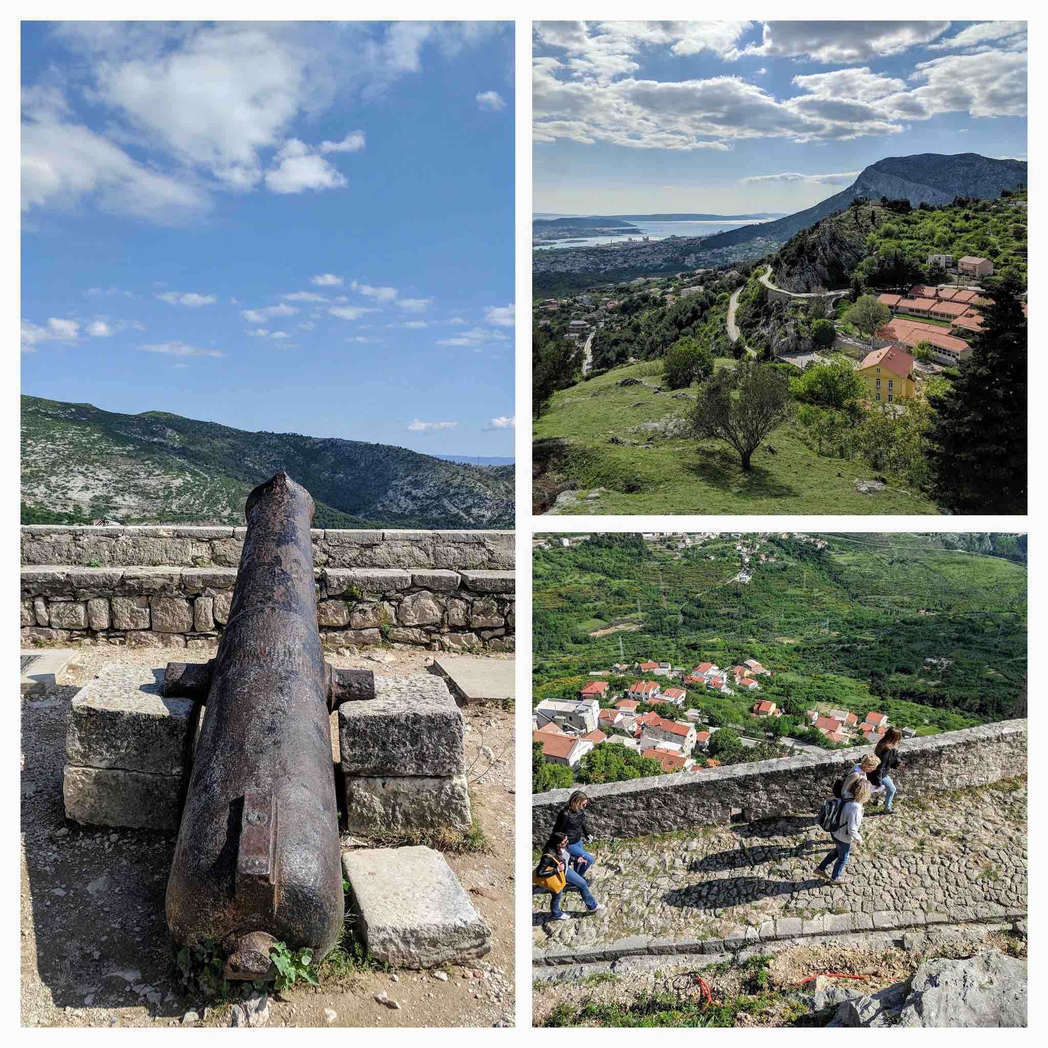 Views from Klis fort