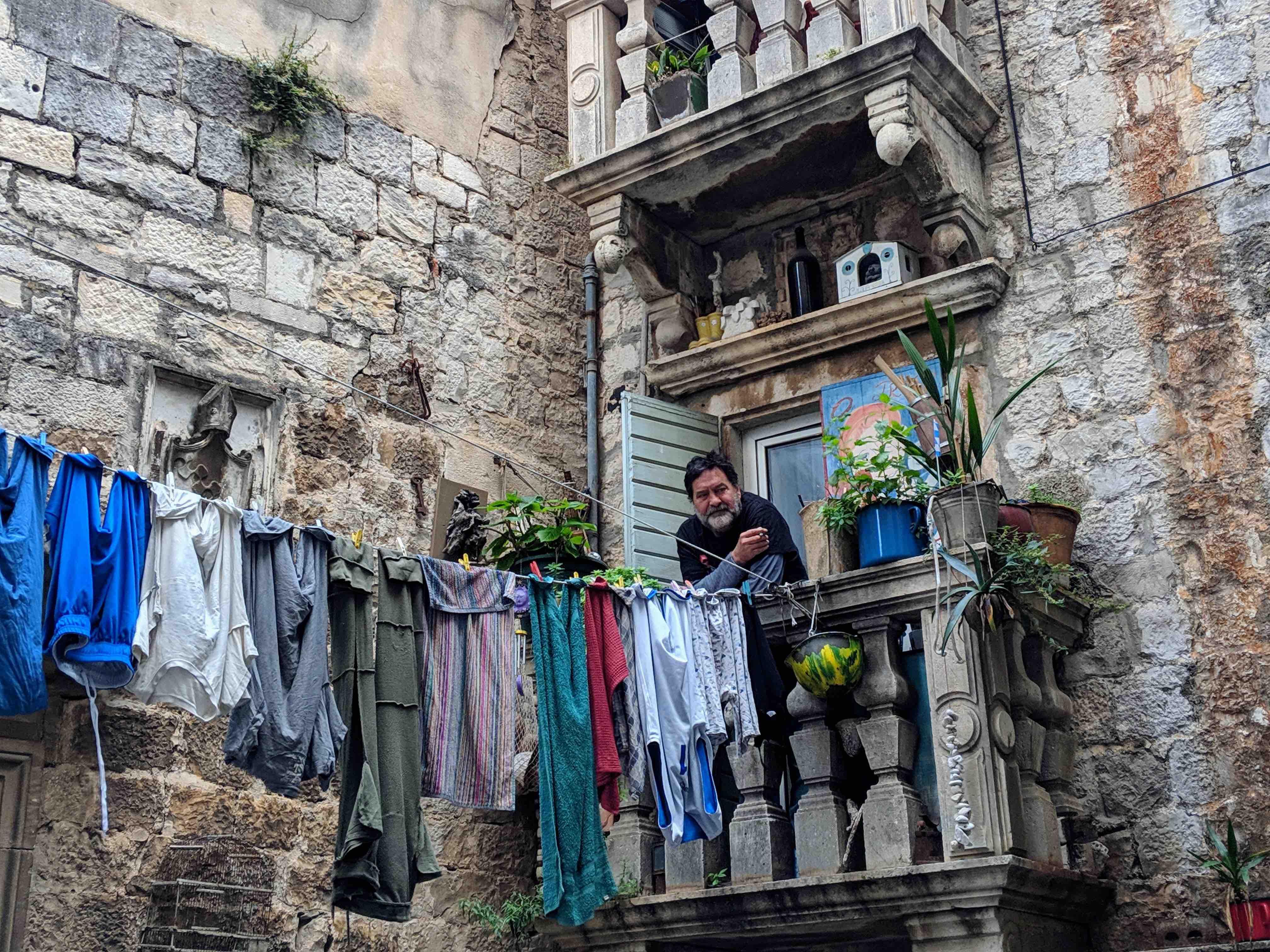 Artist in Trogir