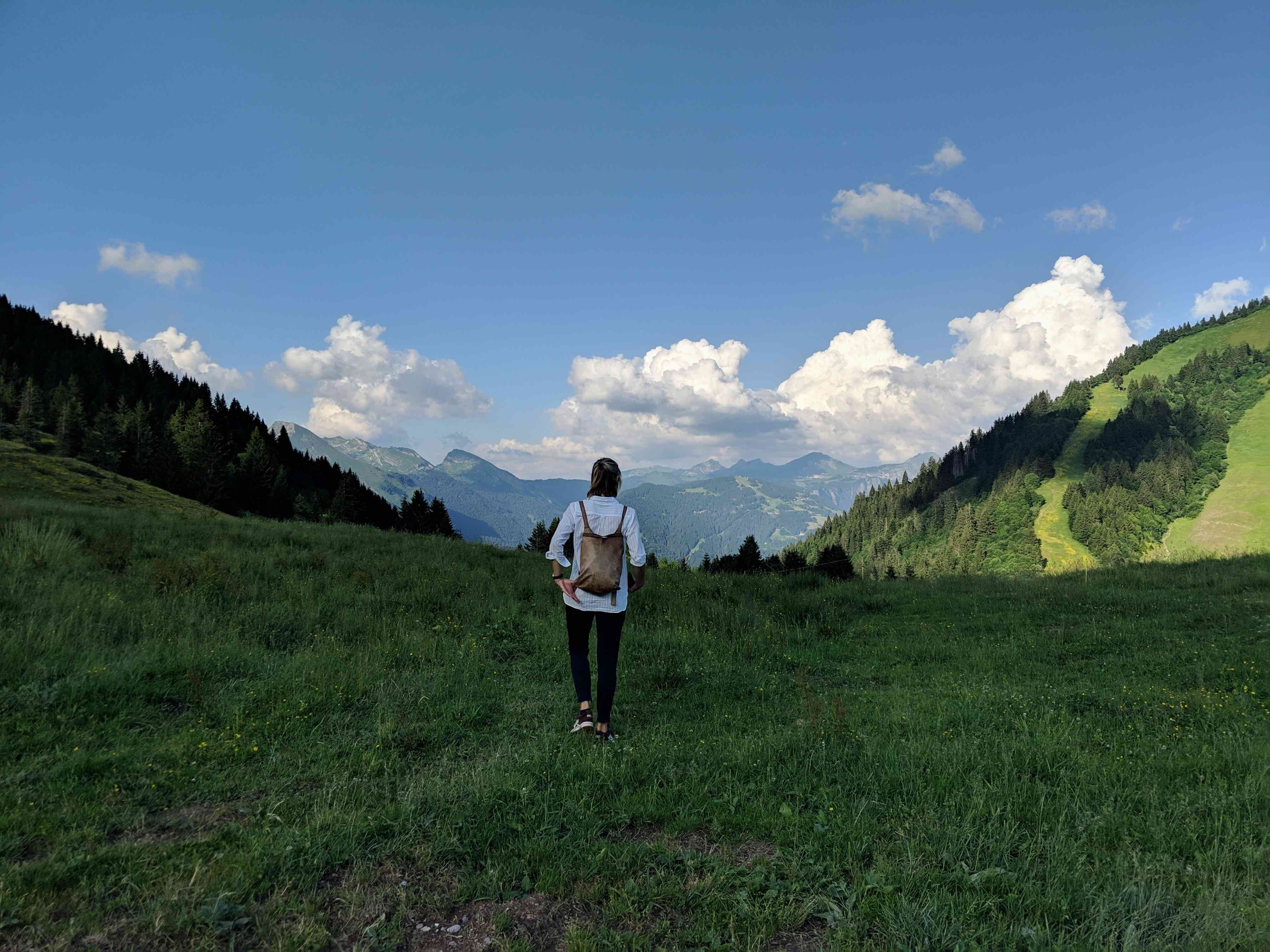 Hike and eat in the french mountains