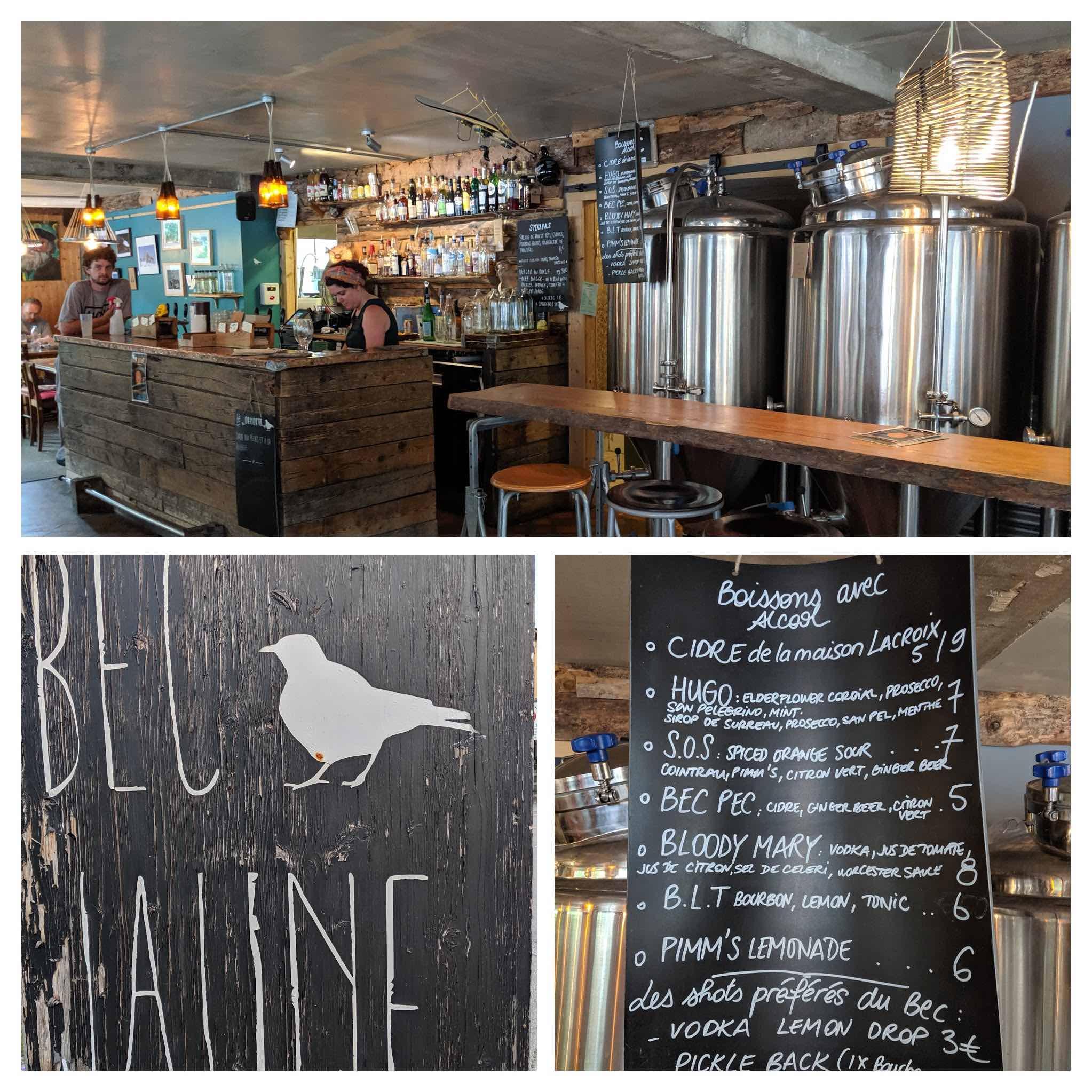 Bec Jaune brewery pub