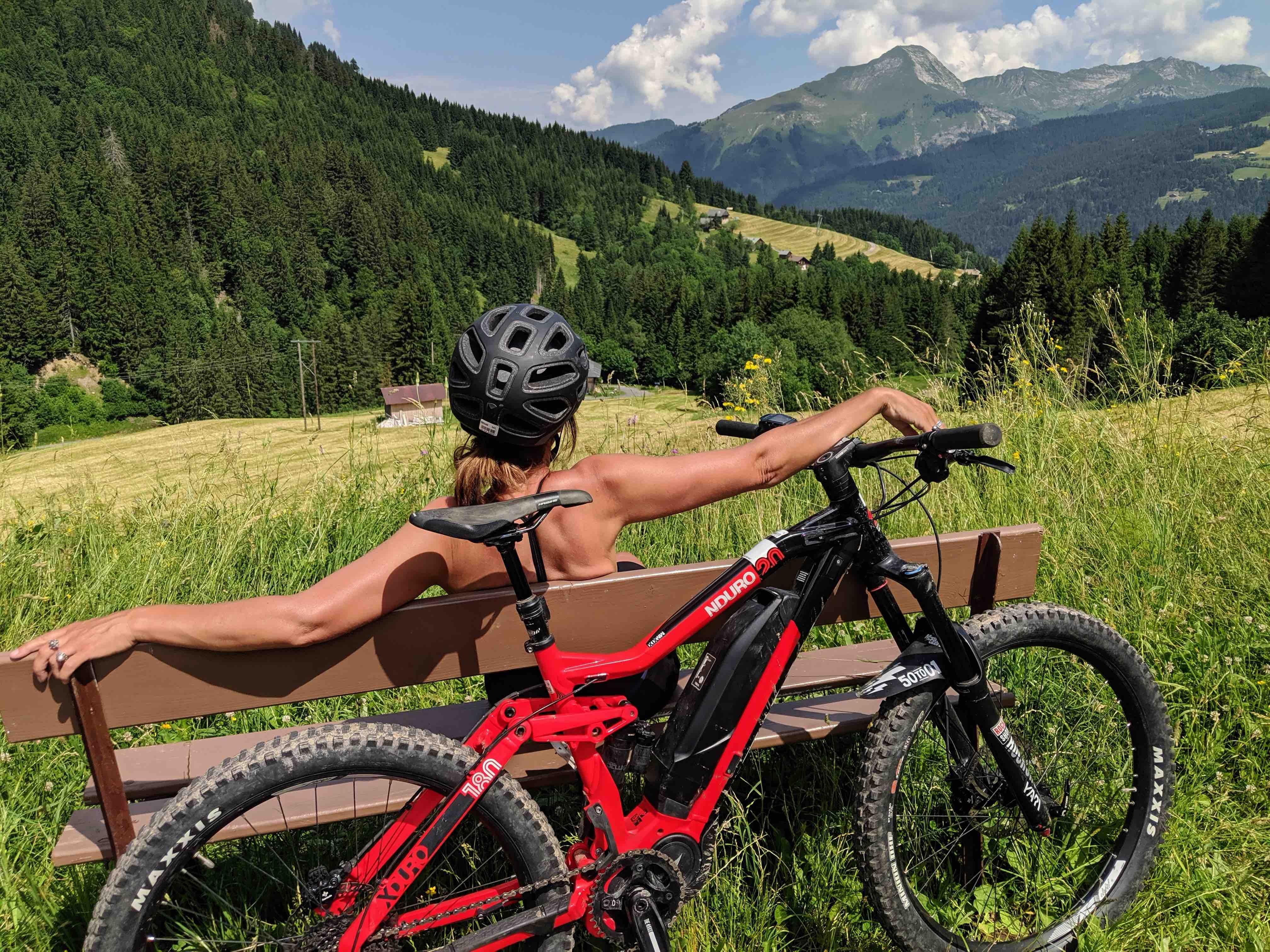 Mountain biking Portes du Soleil