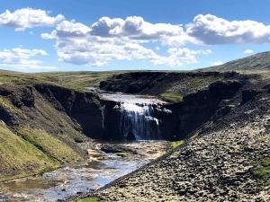 Thorufoss waterfall