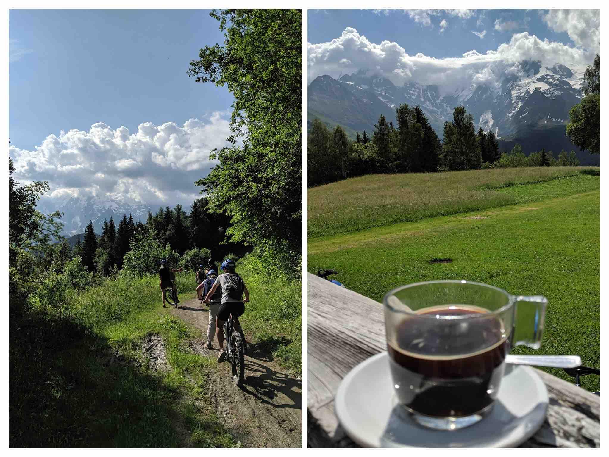 Mountain bike Haute Savois