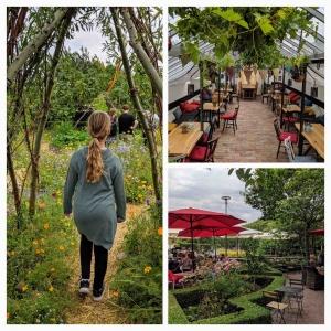 Slottsträdgården café