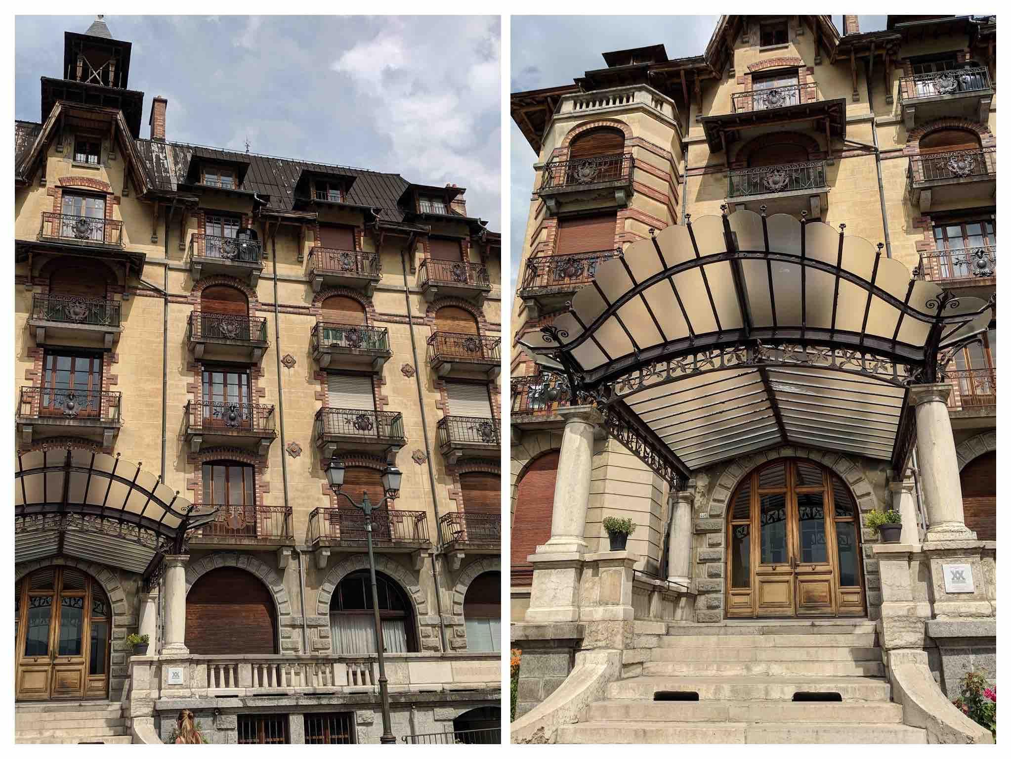 Art deco villa's Saint Gervais