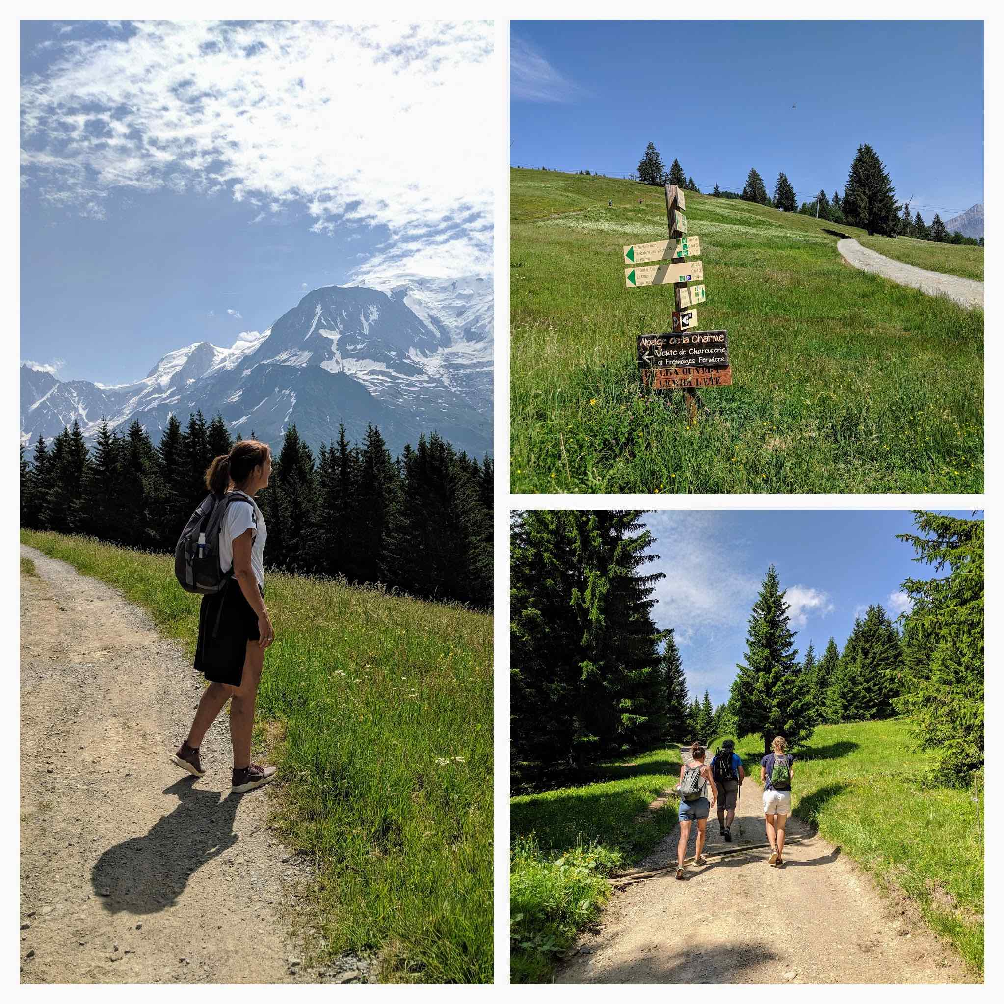 Wandeling vanuit Bellevue plateau
