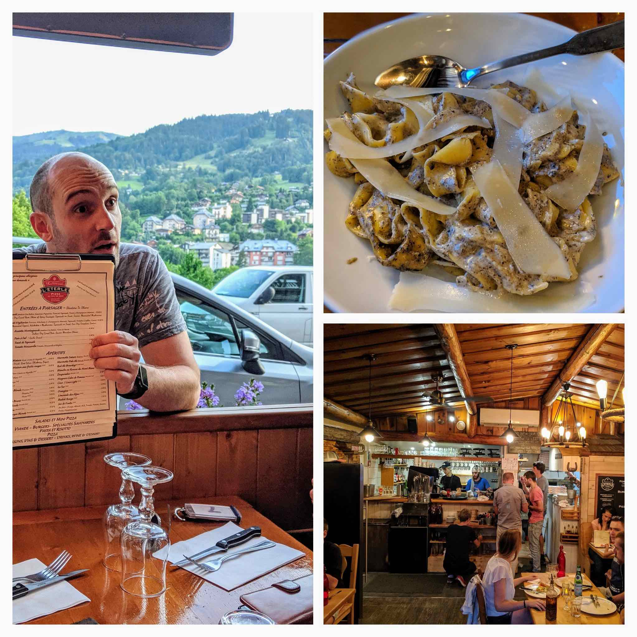 Best restaurant Saint Gervais