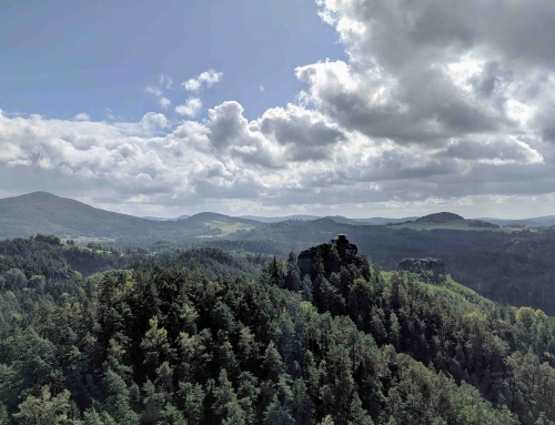 Zwitsers Tsjechië- Wandeling langs de hoogtepunten