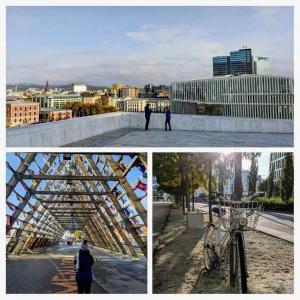 Oslo city in autumn
