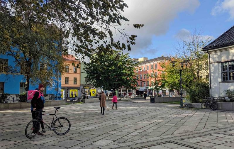 City square Grunnerlokka