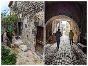 Forgotten villages Italy