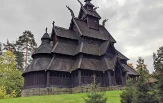 Staafkerk in Oslo