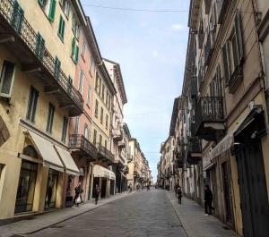 Main street Pavia