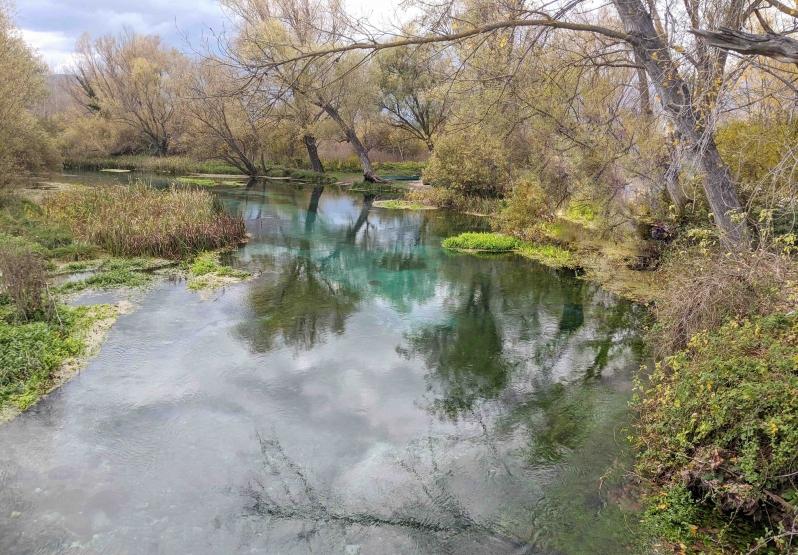 Tirino river