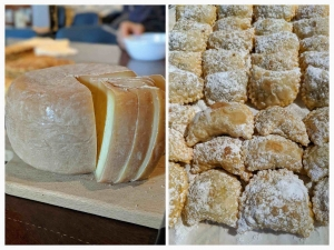 Cheese and sweets from Abruzzo