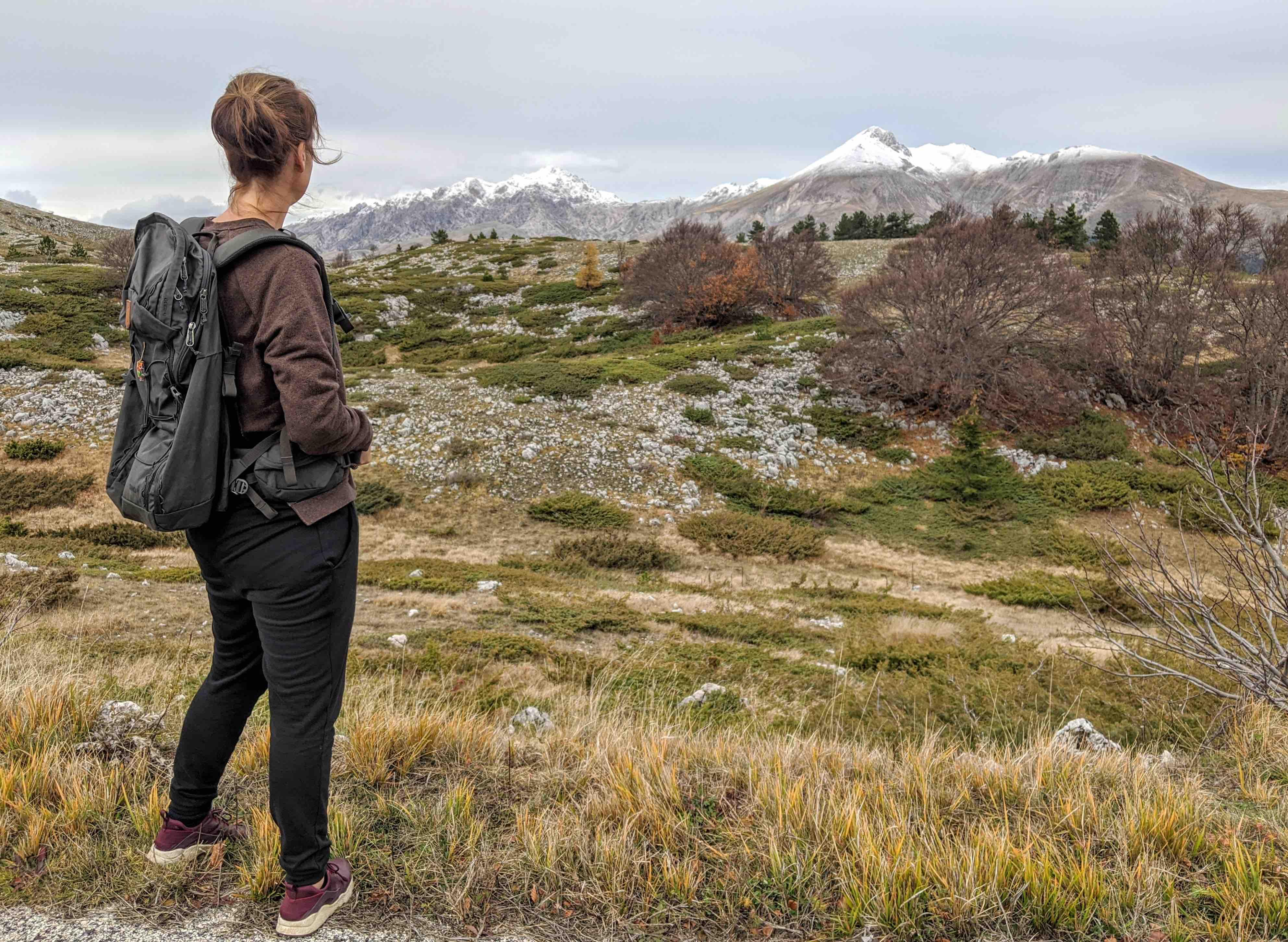 Trekking backpack Fjallraven