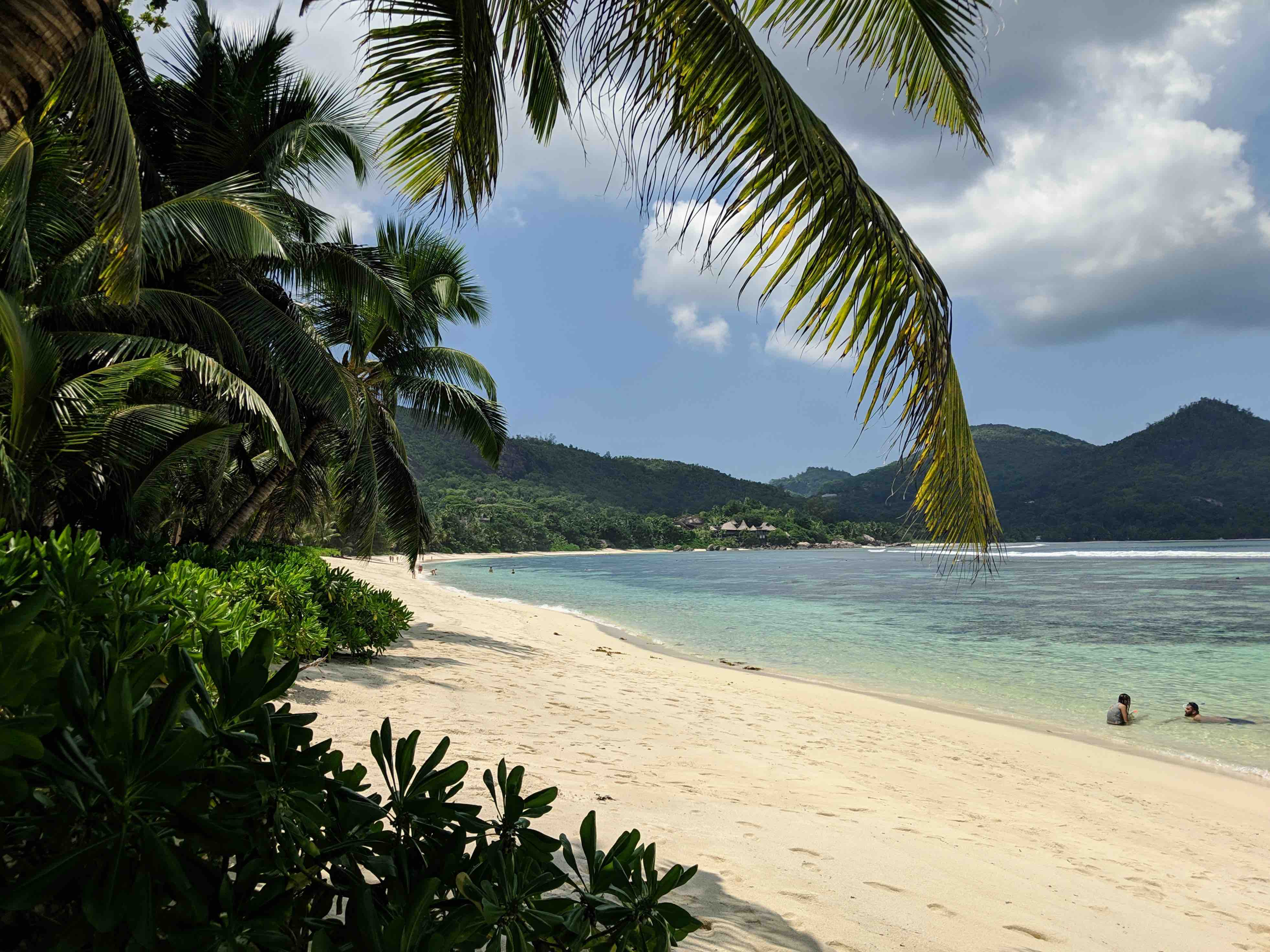 Strand in Mahé