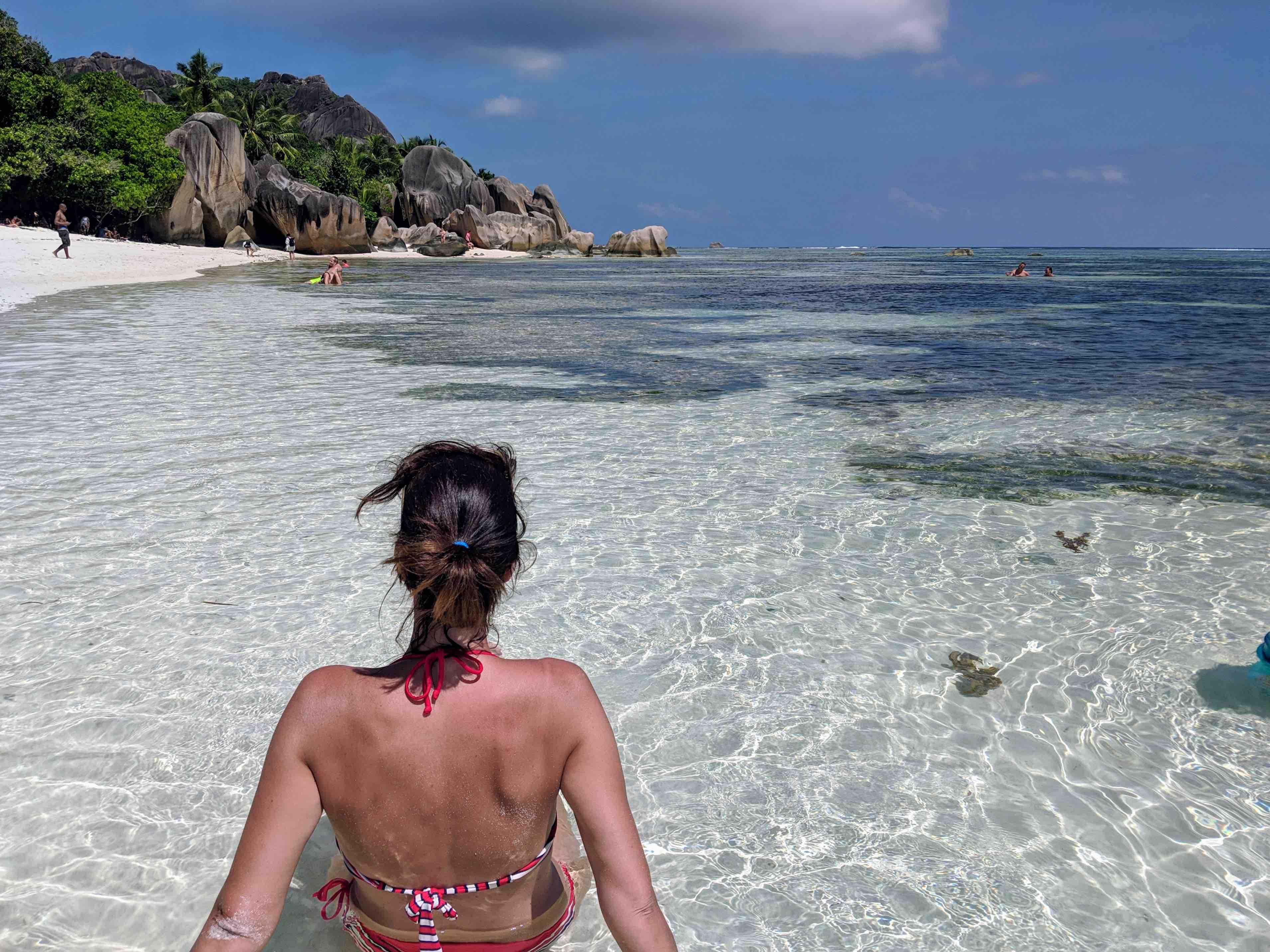 Awarded beach Seychelles