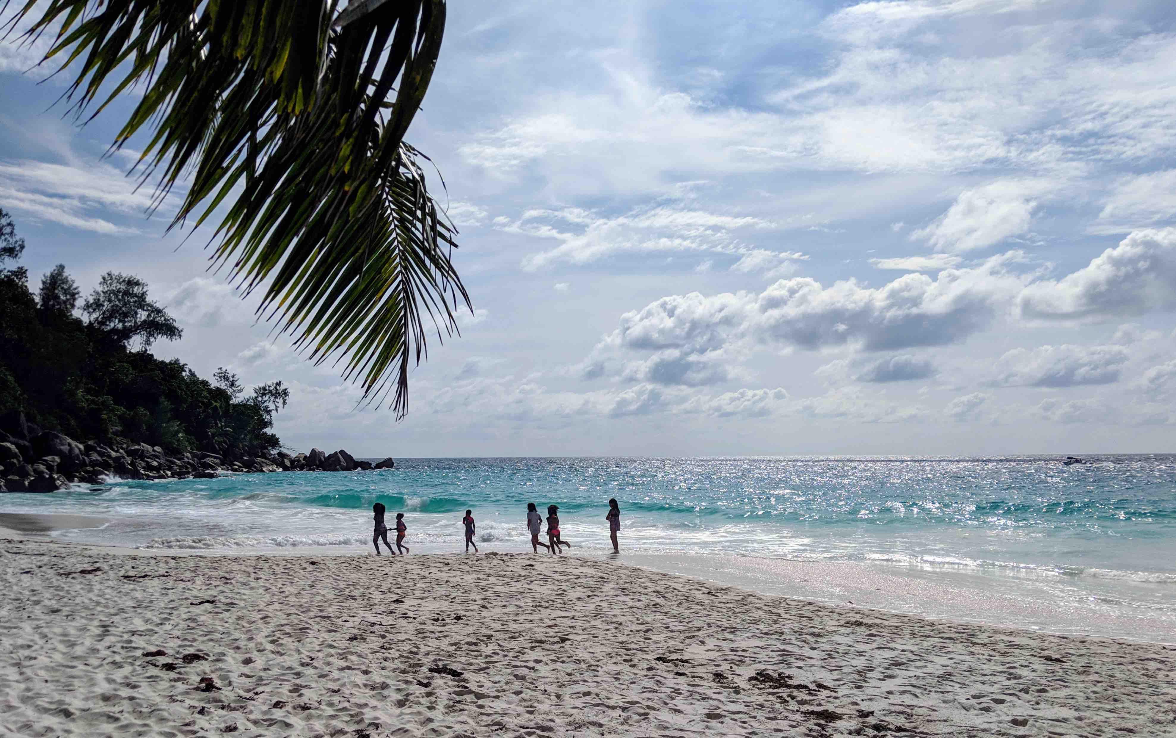 Beach Praslin