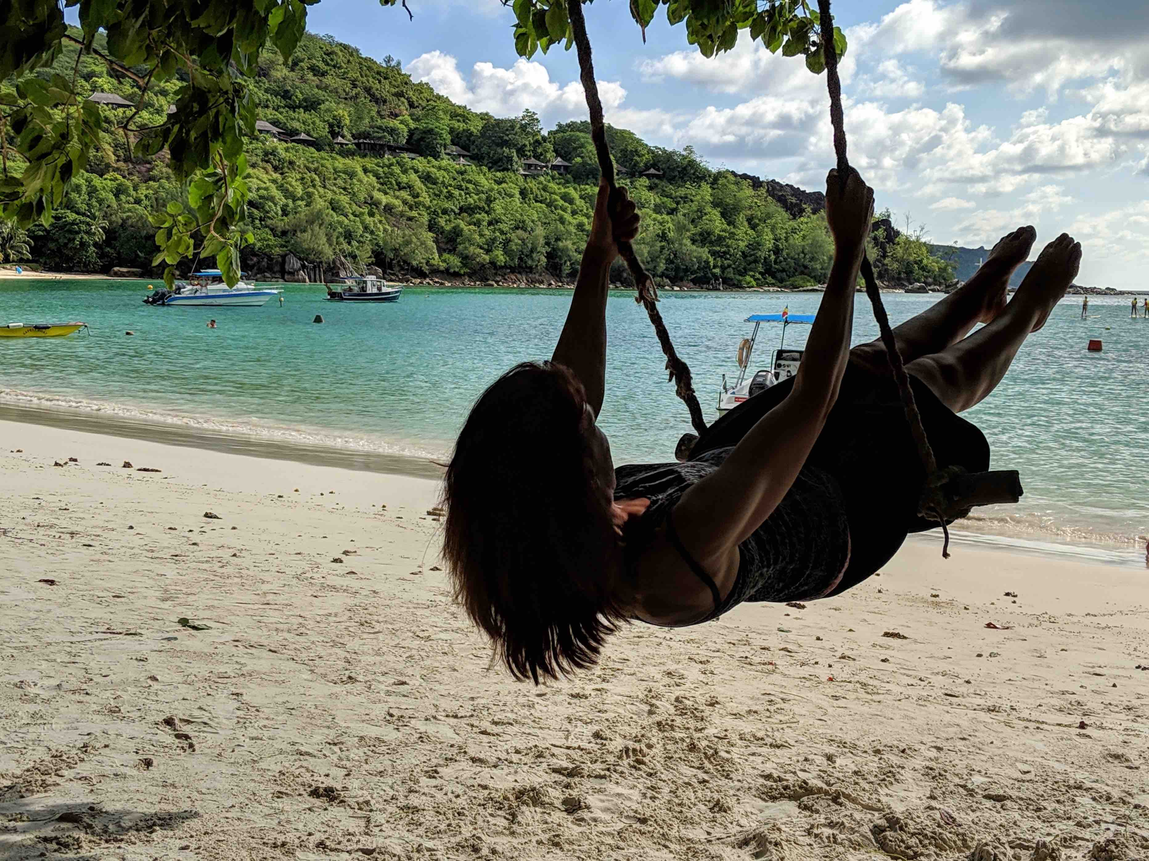 Beach swing best destination