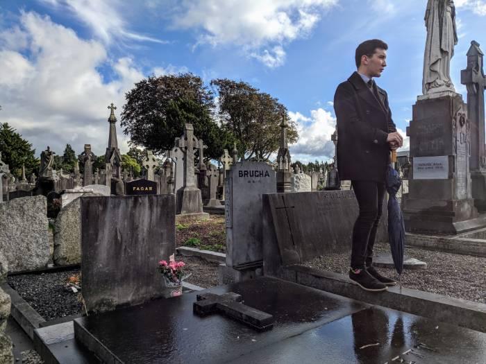 Beroemde begraafplaats Dublin