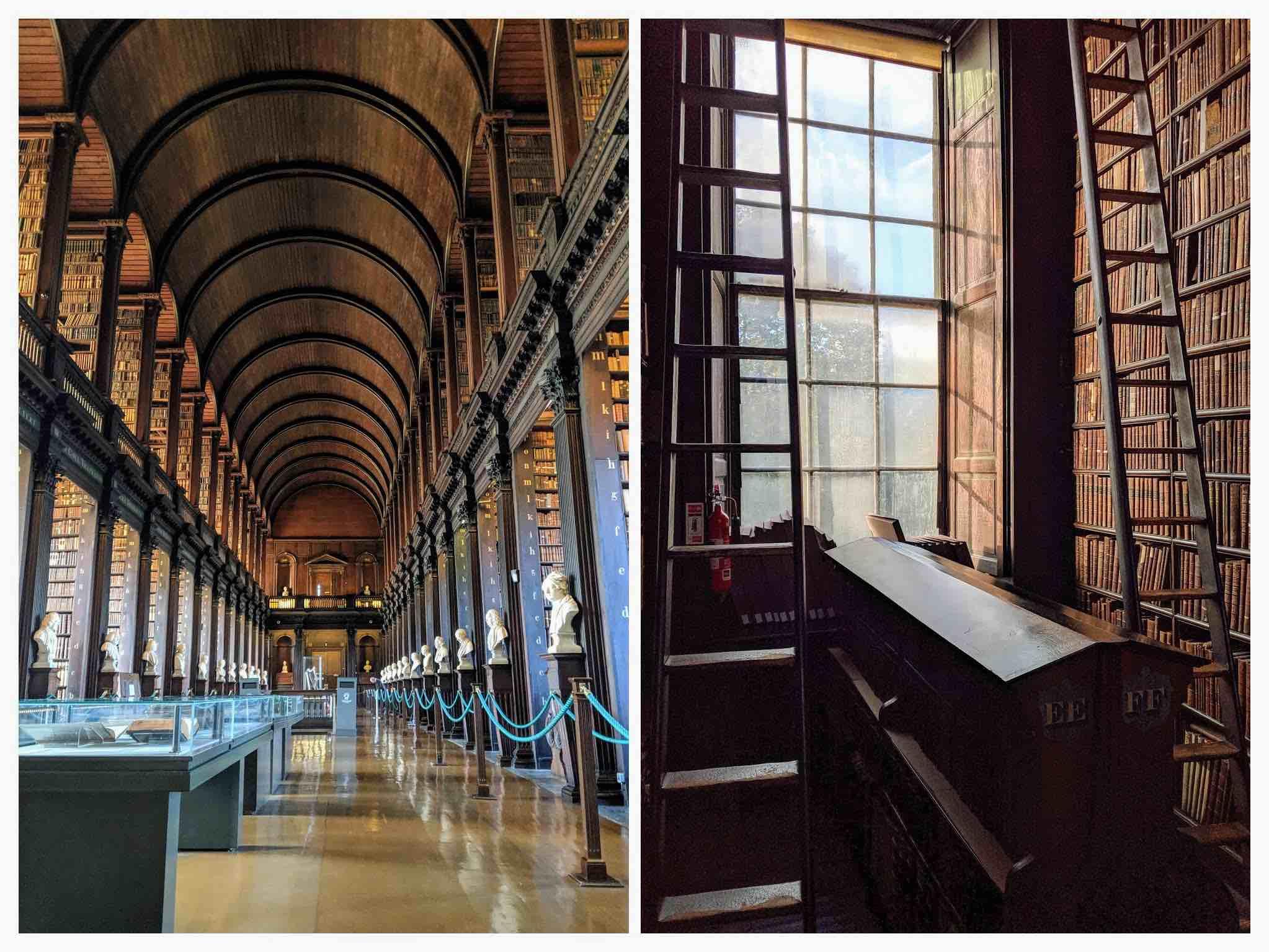 Famous library Dublin