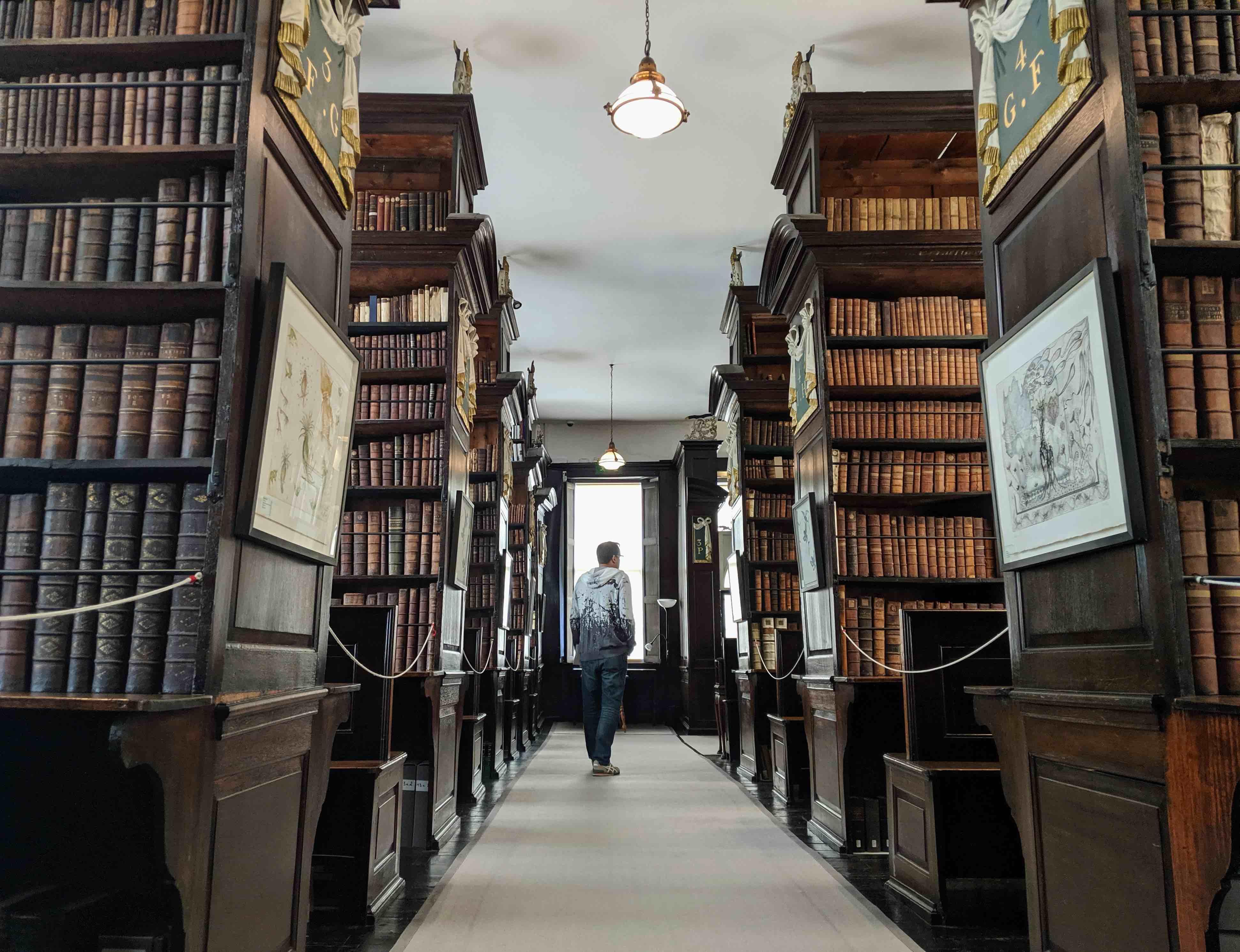 Marsh bibliotheek Dublin
