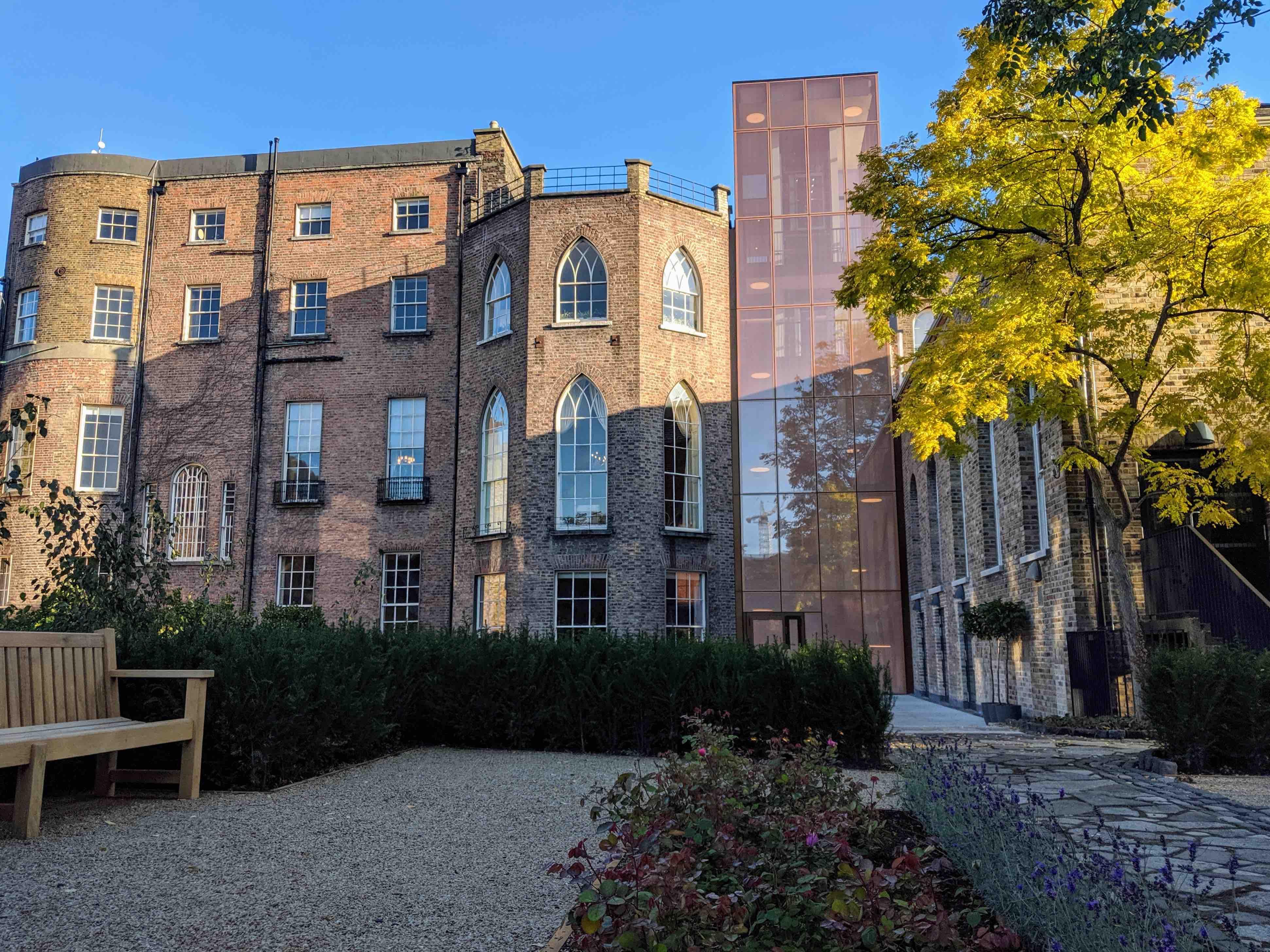 Literature museum Dublin