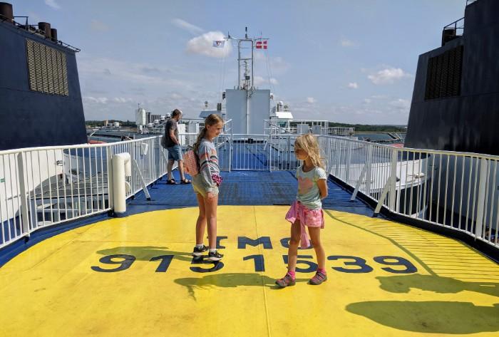 Zweden met boot
