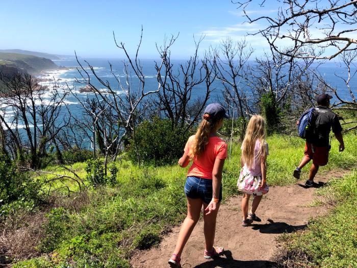 Hiking nature reserve