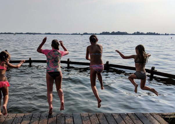 Zwemmen in Vinkeveen