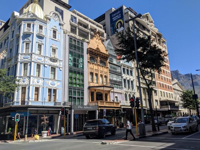 Adderley street Kaapstad