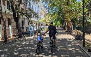 Fietsen Kaapstad met kinderen