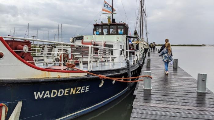 Boot naar Markerwadden