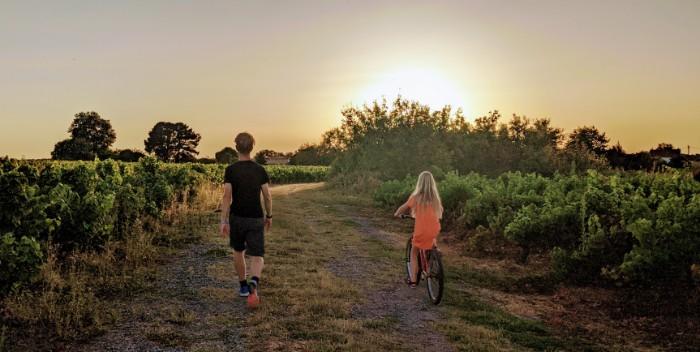 Wandelen en fietsen Loite