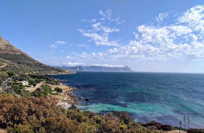 Weg naar Kaap de Goede Hoop