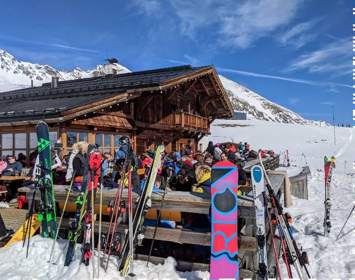 Skiën Kuhtai