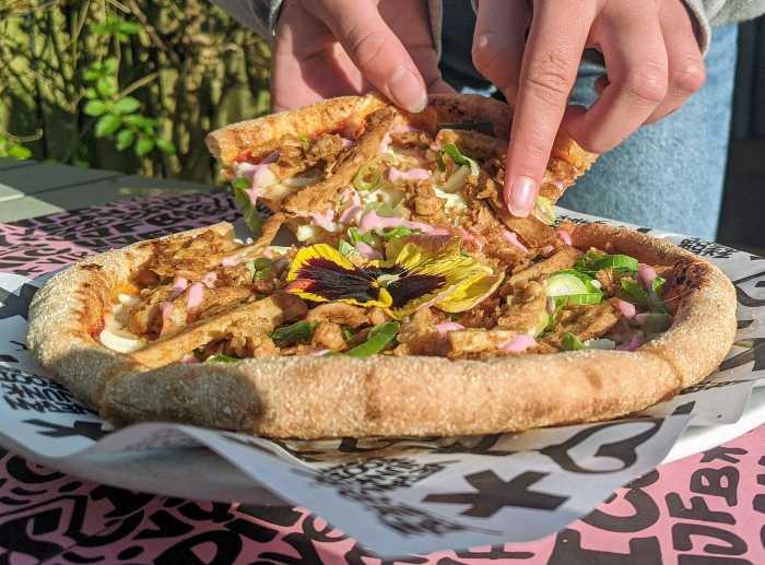 Best vegan pizza Amsterdam