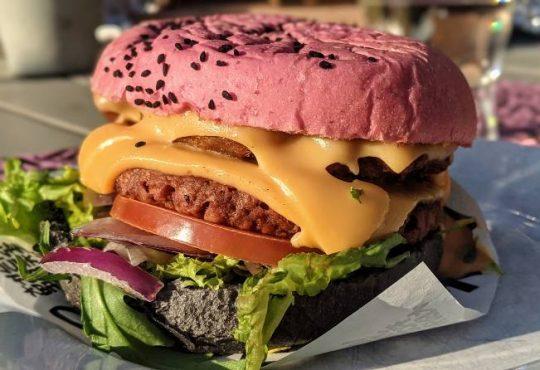 Vegan hamburgers Amsterdam