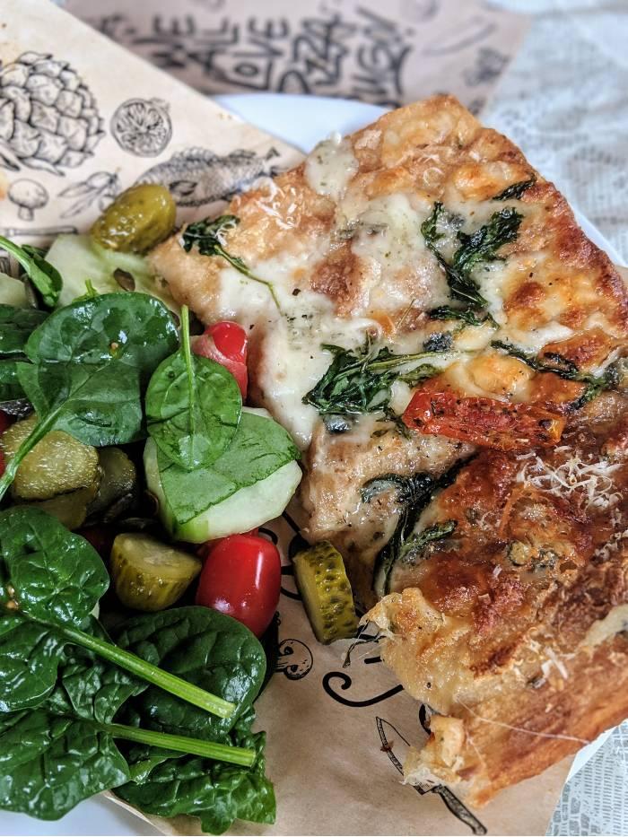 Waar vegan pizza Amsterdam