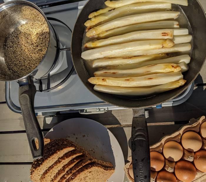 Recept Tiktok breakfast egg