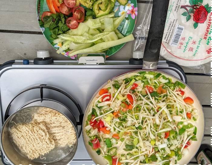Vegan, vegetarische camping recepten