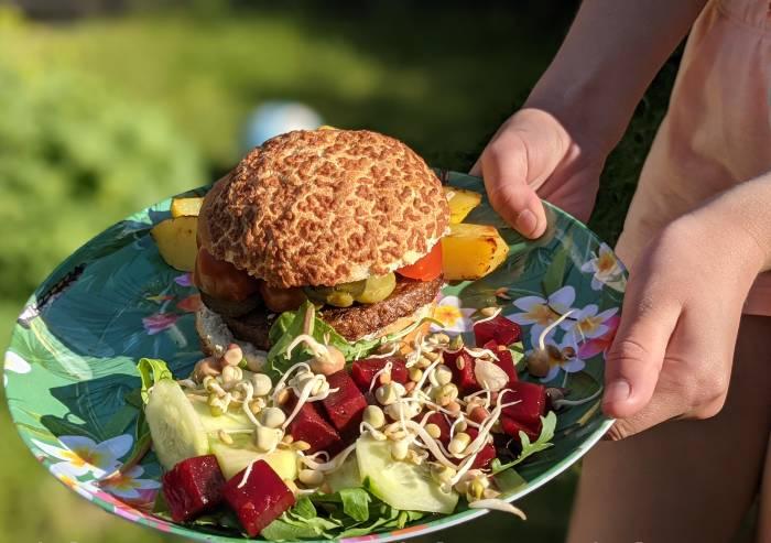 Recept snelle vegan burgers