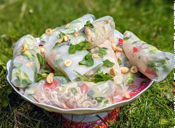 Recept vegan springrolls