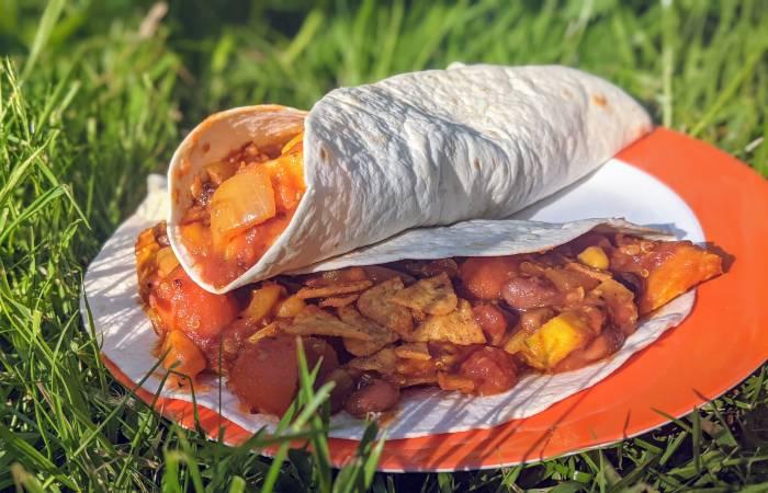 Vegan burrito recept