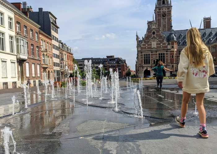 Afkoelen in Leuven